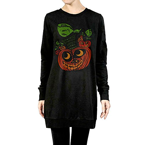 Women Halloween Pumpkin Stacking Classic Long Custom Fit Hoodie Sweatshirt (Stacking Pumpkin)