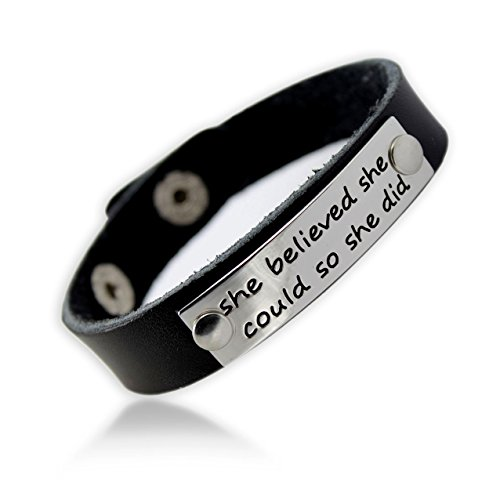 gifts-for-women-inspirational-message-she-believed-she-could-so-she-did-genuine-leather-bracelet