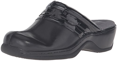 SoftWalk Clog Abby Women's WW Black 9 US 6wP6rEq