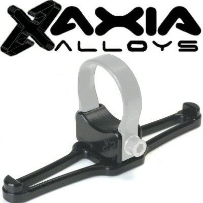 Axia Alloys Black Anodized Dual Headset, Helmet, Or Goggle Hanger Parallel To Tube Dune Buggy Sand Rail Polaris Rzr 1000xp