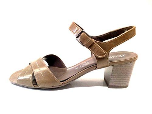 Taupe Sandal 54681 Ara Fashion Leather nbsp;Woman XwUxTHqZ