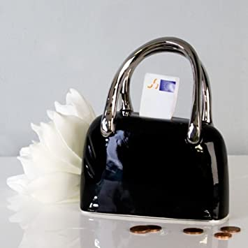 cbb72a163fbb2 Amazon.de  Spardose  Handtasche