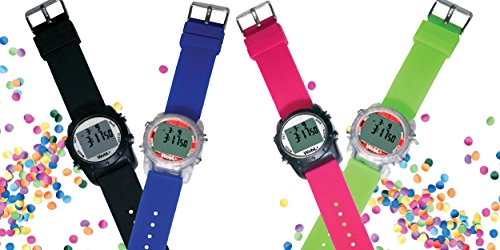 WobL+ Waterproof Vibrating Watch (PINK), 9 Alarms, Potty Reminder, Pill Reminder by WobL Watch (Image #3)