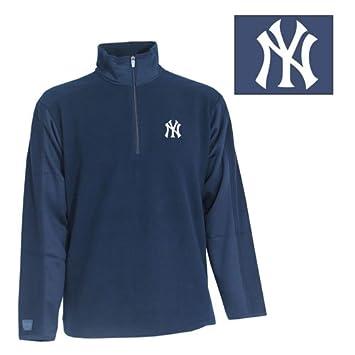 Antigua New York Yankees de la MLB Hombres Sudadera de Forro Polar Frost, Hombre, Azul Marino: Amazon.es: Deportes y aire libre