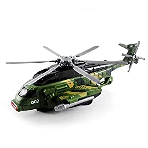 KPMART Army Helicopter Toy for...