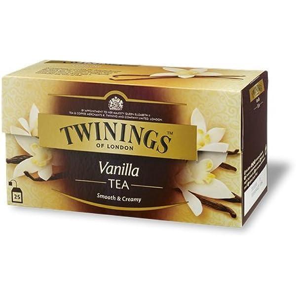 Twinings - Tè Negro - Vanilla (25 Bolsas): Amazon.es: Alimentación y bebidas