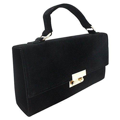 Black Bag Clutch Handbag Lady Case Wiwsi Hard Prom Formal Shoulder Evening Women Purple Party SaPA1wTqO
