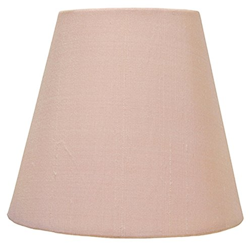Upgradelights 6 Inch Mini Chandelier Shade Pink Silk Lamp Sh