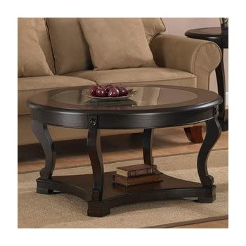 Amazon.com: Geurts Espresso Coffee Table. This Dining Room Table ...