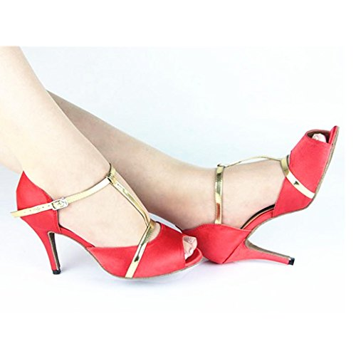 T Dance Standard Women's Shoes Tango Ballroom strap Monie Salsa Latin pSwWOqqxE