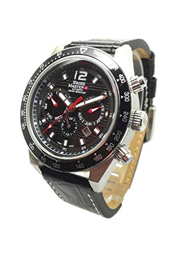 Swiss Master Mens Automatic Watch with Calendar