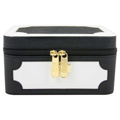 SOHO Medium Organizer Box Black & White Black by Soho