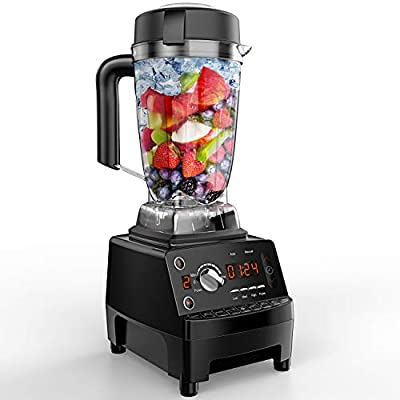 Vanaheim Professional Blender 1450W, 64Oz BPA free Container with Tamper,9 Auto Program Presets,Variable Speed,Auto Clean,Powerful Stainless Steel Blade for Easily Crushing of Ice Smoothies and Frozen Desert, 2.25HP