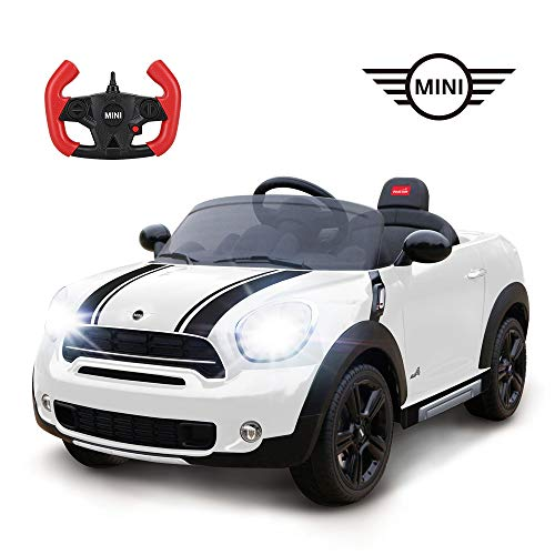 (RASTAR Battery-Powered Kid's Ride-on Car, 12V Mini Cooper Electric Ride On Car for Kids, Top 2018 Christmas Toys)