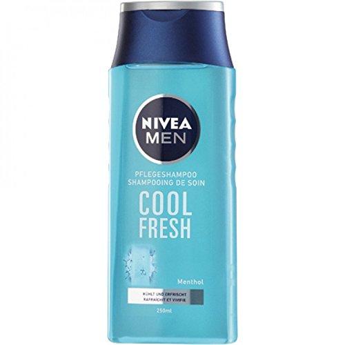Nivea Shampoo Men For Men Cool normales Haar , 6er Pack (6 x 250 ml)