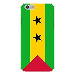 Apple iPhone 6 Custom Case White Plastic Snap On - Sao Tome & Principe - World Country National Flags