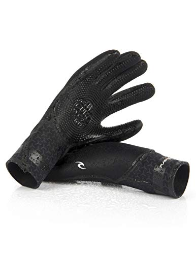 Rip Curl Flashbomb 5/3 5 Finger Gloves (Rip Curl Flash Bomb Wetsuit)