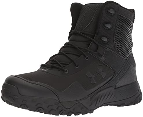 Under Armour Valsetz 1.5 Men's Side Zip RTS Military Tactical Black Boot 001)/Black