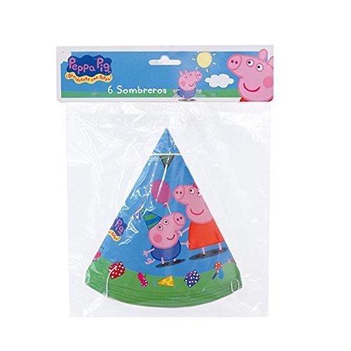 Peppa Pig -6Hats (Verbetena 016000729)