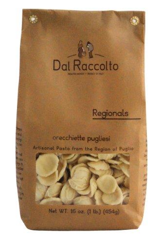 Dal Raccolto Orecchiette Pasta, 1.0 Pound (Dried Pasta)