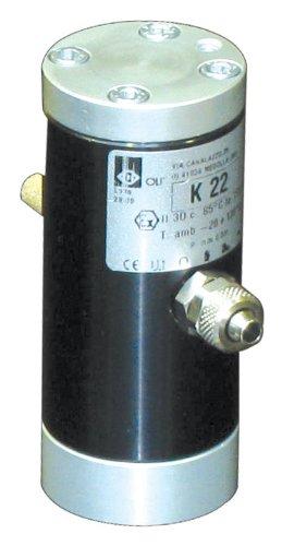 Oli Vibrator K 22 Pneumatic Linear Vibrator 3450 Vpm and 31.3 lbs//Force @ 58 psi