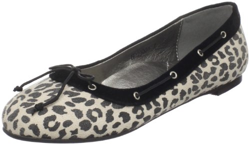 Coeur Animal Ballet Cri Black de Women's Flat OqnzP5w