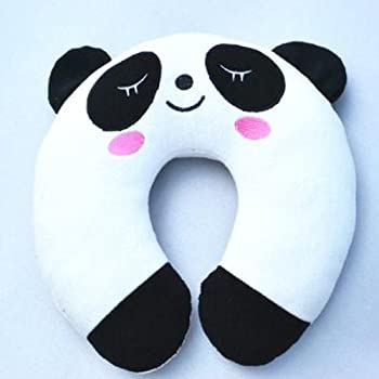 Amazon Com Travel Neck Pillow Cute Panda Home Amp Kitchen