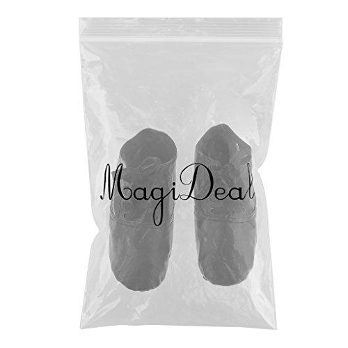 MagiDeal Erwachsene Damen Herren Schnürschuhe Jazzschuhe schwarz 39