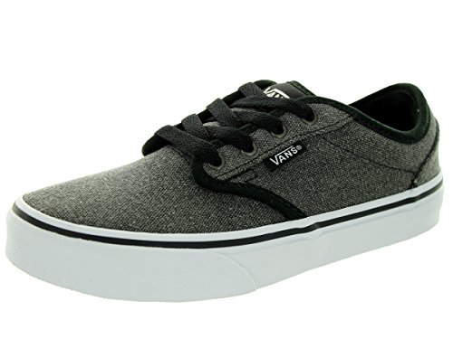 Vans Kids Atwood  Black Skate Shoe 1 Kids US