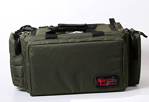 Shooters Connection Tournament Series Shooting Bag PRO II (Green) (Pro Bag Shooters)