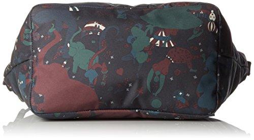 piero guidi Magic Circus Camouflage Borsa Tote, 38 cm, Giungla