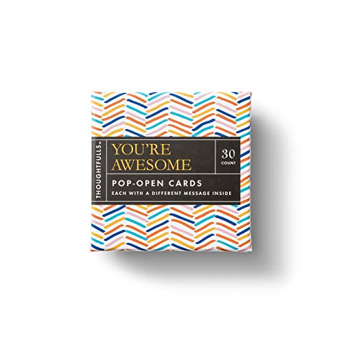 ThoughtFulls Pop-Open Cards by Compendium: You're Awesome — 30 Pop-Open Cards, Each with a Different Inspiring Message…