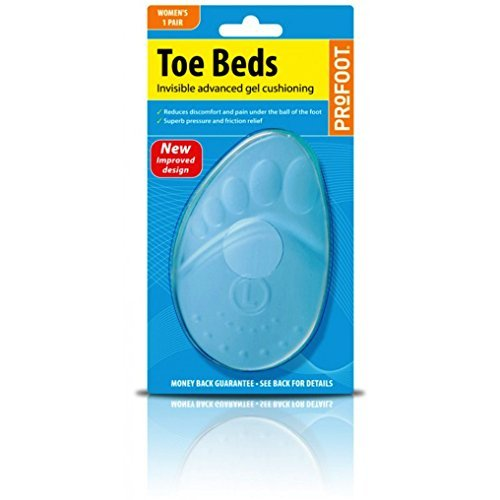 Profoot Toe Beds Toe & Ball Of Foot Cushions Womens Pr by Profoot