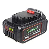 TenMore DCB206 20V 6.0Ah Replacement Battery for DeWalt Max XR DCB200 DCB205 DCD DCG DCF DCS DCK DCL Power Tools For Sale