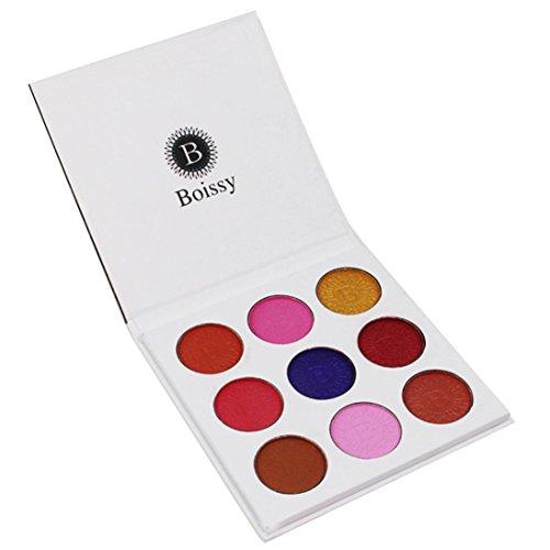 RNTOP Fashion 9 Colors Eyeshadow Palette Luxury Golden Nude