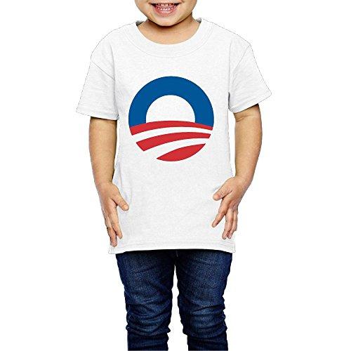 Toddler Obama Large Rising Sun Logo Funny T-Shirt