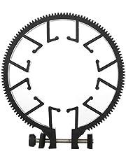 Lens Gear Ring Plastic Adjustable Zoom Focusing Ring Follow Focus Gear Accessory for 55-65mm DSLR Lens
