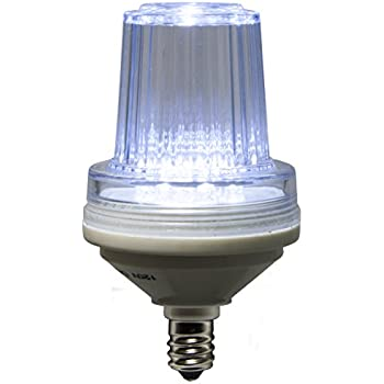 C7 130v Strobe Cool White Led Replacement Lamps Amazon Com