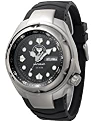 ADI 223 Mossad Mens Tactical Watch - IDF Mossad Unit Symbol, Millitary Sport Watch, Water Resistant, stainless...