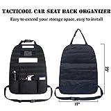 Tacticool Car Seat Back Organizer - Upgraded