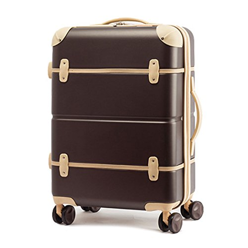 2d3961250 EDDAS EV-502 25 & 20 Inch ABS Pastel Color Vintage Series Hard Type Carry  on Luggage (Product of Korea) (20