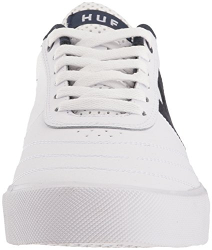 HUF Mens Galaxy White/Orange/Navy 7BrgFZI3