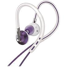 IHOME IB11WUXC Sport Ear Hook Earbuds with Microphone, Purple