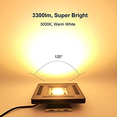 Square LED Flood Light 50W