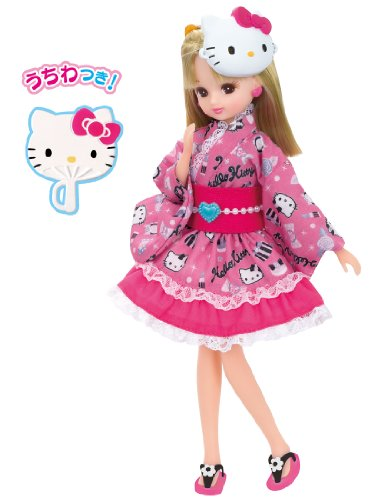 Rica-chan Hello Kitty Collabo Yukata Rica-chan Pink