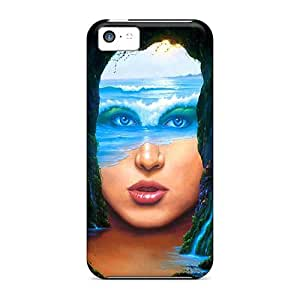 Fashion PLw35682POvs Cases Covers For Iphone 5c(face)