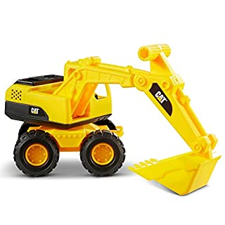 CatToysOfficial Cat Construction Fleet Toy Excavator