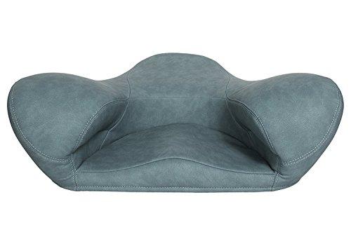Cheap Zen Yoga Matt Alexia Meditation Seat – Zen Yoga Ergonomic Chair Foam Cushion Home or Office – Different Materials and Colors (Teal Vegan Leather)
