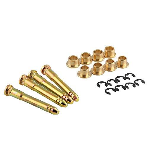 - Allytech Door Hinge Pin Bushing Repair Kit for Honda Civic Accord CR-V CRX CX DX EX SI EG6 B16 D16 EK EG EH EJ - 03 Gold