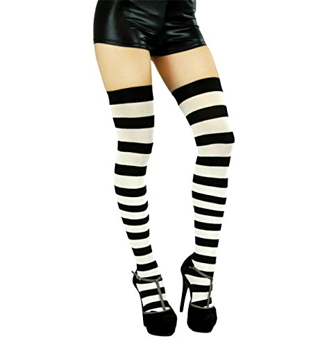 5b3aa414ff548 Best Striped thigh highs (April 2019) ☆ TOP VALUE ☆ [Updated] + BONUS